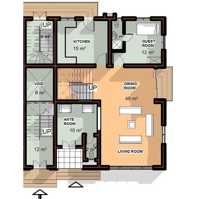 Laird place allen options hellohouse hello house for Maisonette plans