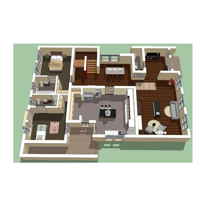 4 bedroom house plans in nigeria joy studio design for Interior home designs in nigeria